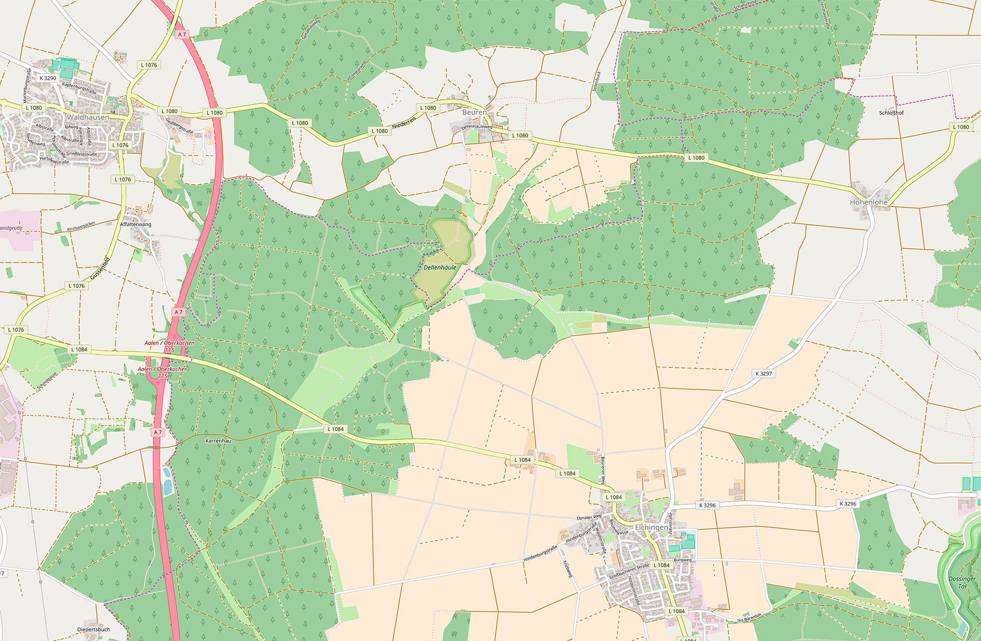Bildquelle: Map data © OpenStreetMap contributors